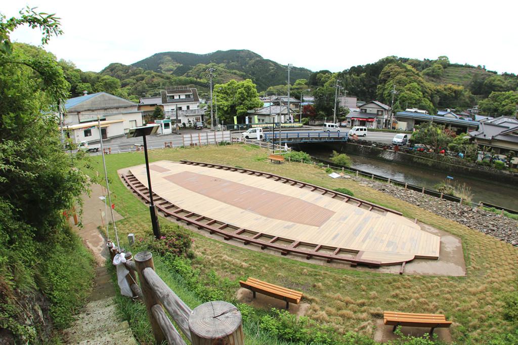 長浜城跡 展望台・デッキ
